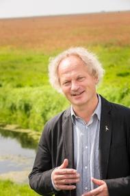 Prof. Theunis Piersma photographer NWO/Ivar Pel